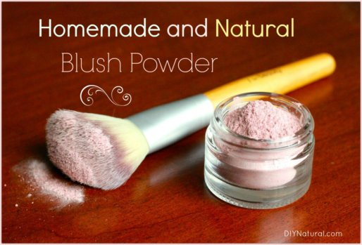 Homemade Cosmetics Blush Powder