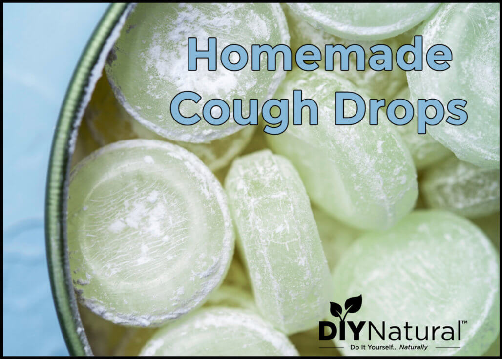 Natural, Immune-Boosting Homemade Cough Drops