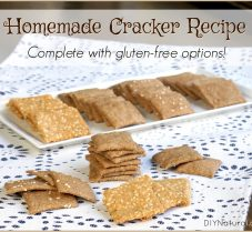 Homemade Crackers (With A Gluten Free Option!)