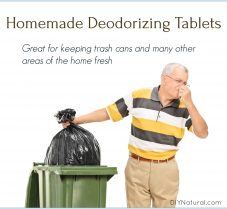 DIY Deodorizing Tablets For Trash Cans And More!