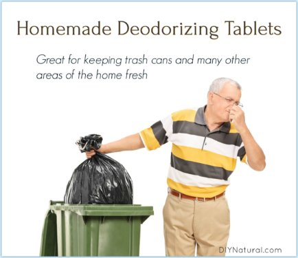 Homemade Deodorizer Tablets