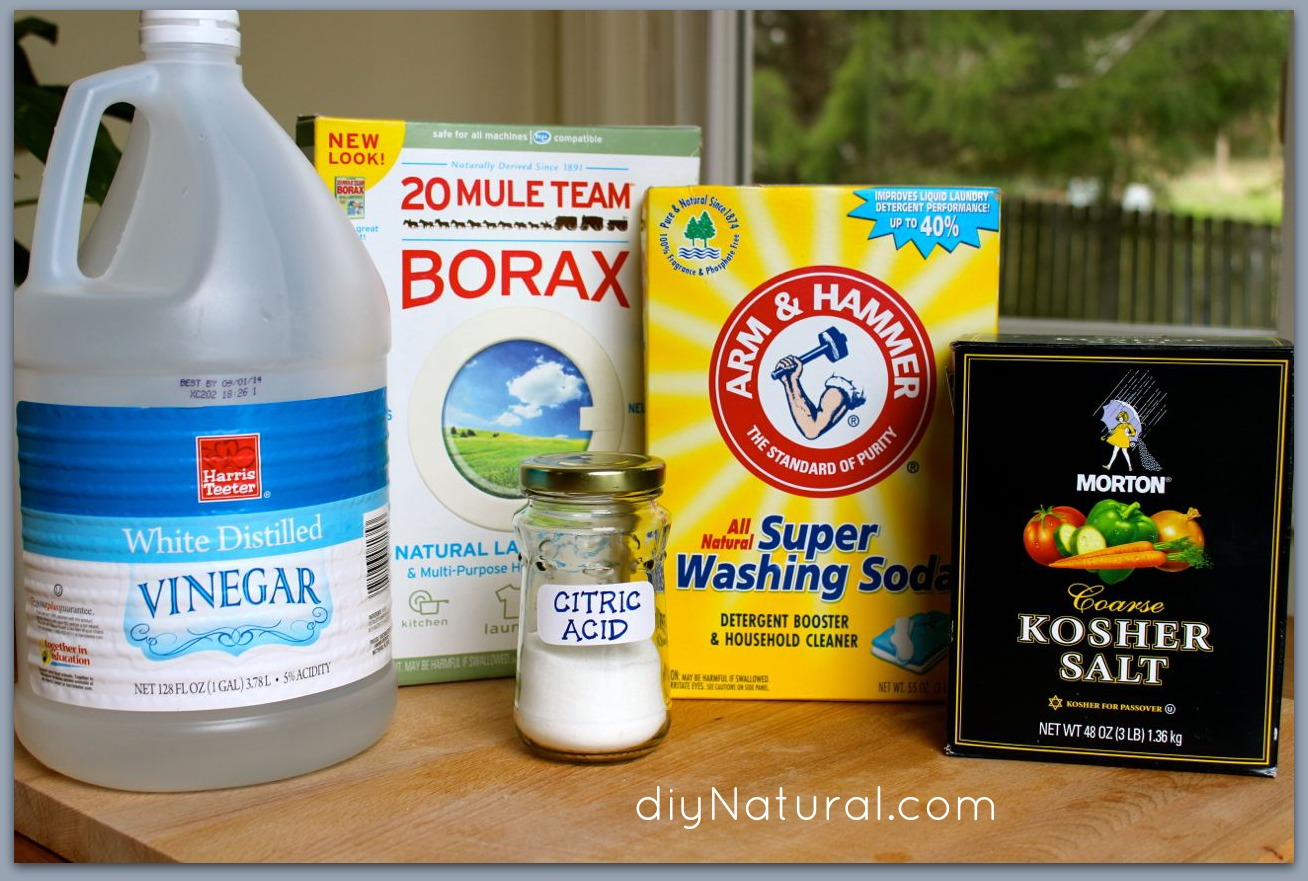 Homemade Dishwasher Detergent 1