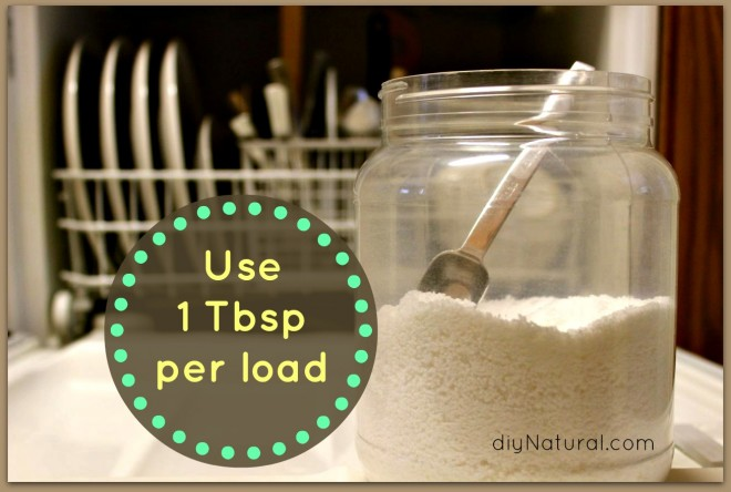 Homemade Dishwasher Detergent 7