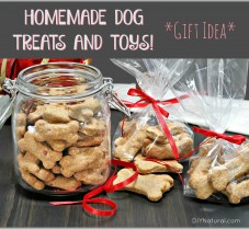 Homemade Dog Treats and Toys Make Great Gifts