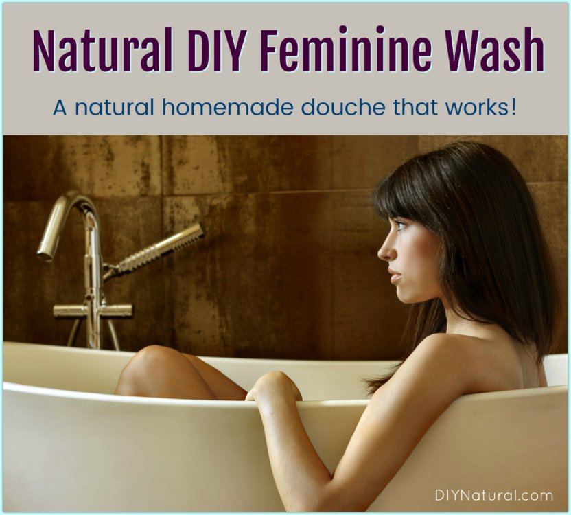 Homemade Douche DIY Feminine Wash Natural