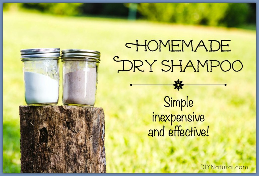 Homemade Dry Shampoo A Simple Effective And Inexpensive Recipe