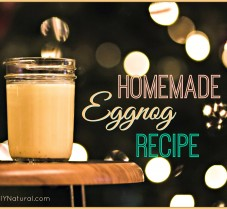 A Real Natural Delicious Homemade Eggnog Recipe