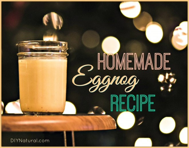 Homemade Eggnog Recipe