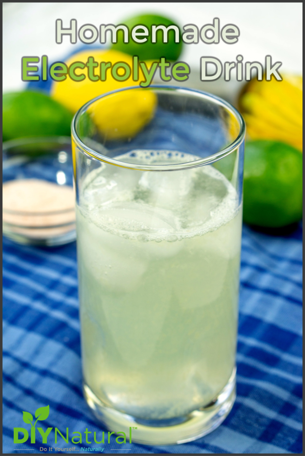 Homemade Electrolyte Drink: Healthy