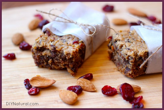 Homemade Energy Granola Bars 1
