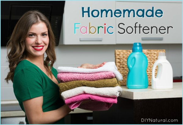 Homemade Fabric Softener DIY