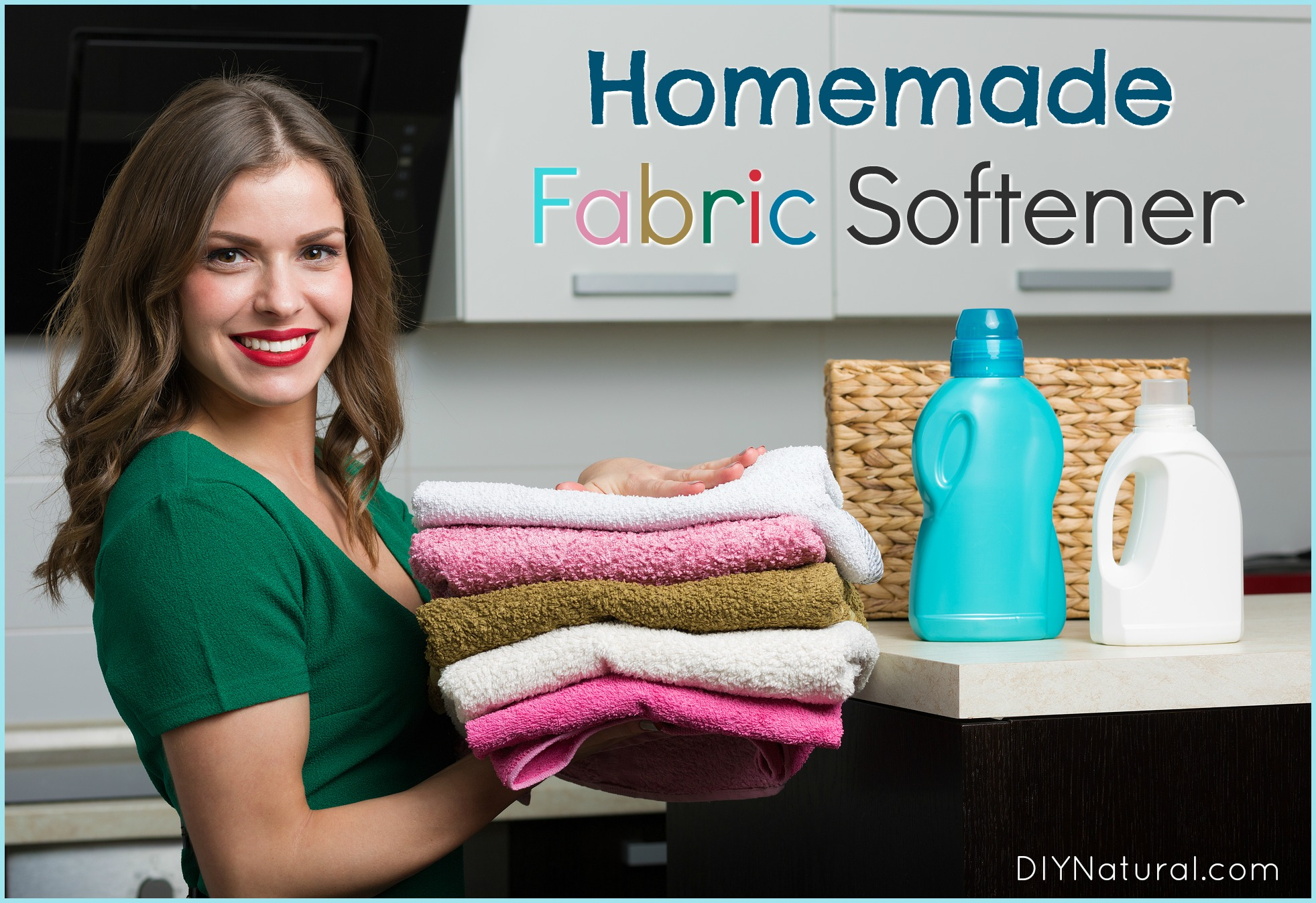 Diy Fabric Softener A Simple And Natural Fabric Softener Recipe