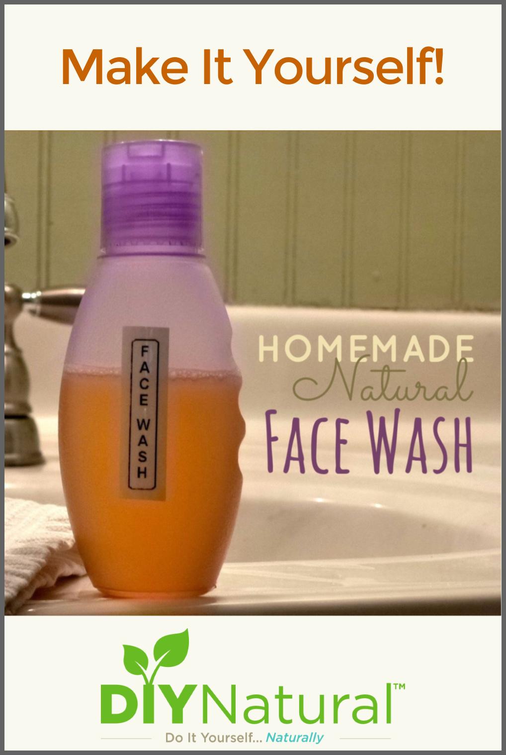 Homemade Face Wash: A Natural DIY Face Wash Recipe