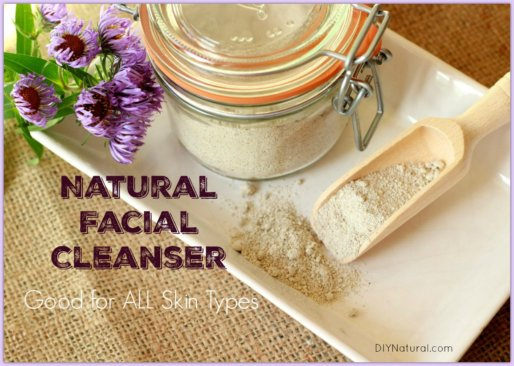 Homemade Facial Cleanser Powder