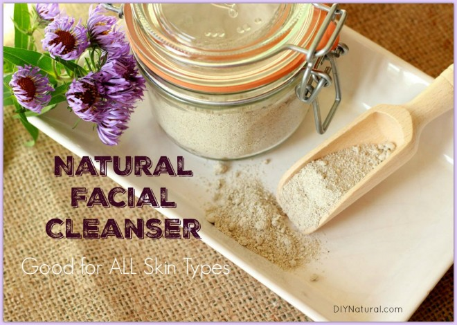Homemade Natural Face Wash Powder