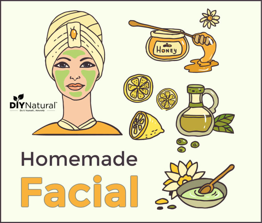 Homemade Facial A Simple Natural Recipe To Improve Your Complexion