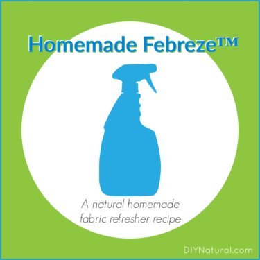 Homemade Febreze Homemade Fabric Refresher