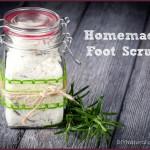 Homemade Salt Scrub for Sandal-Ready Feet