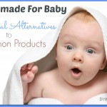 Natural Alternatives to Common Baby Care Items