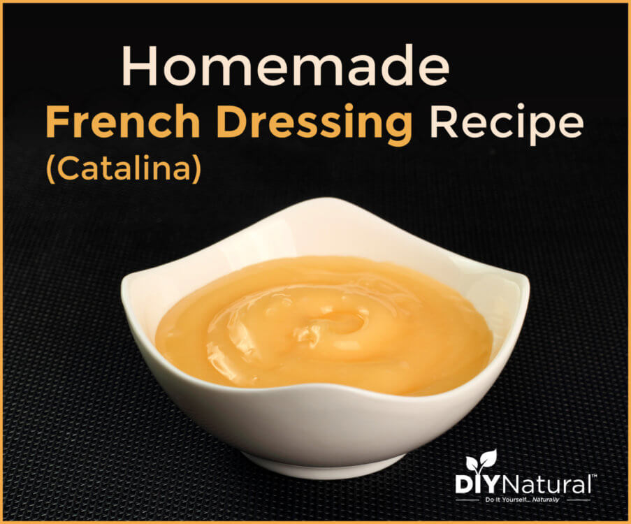 Homemade French (Catalina) Salad Dressing Recipe