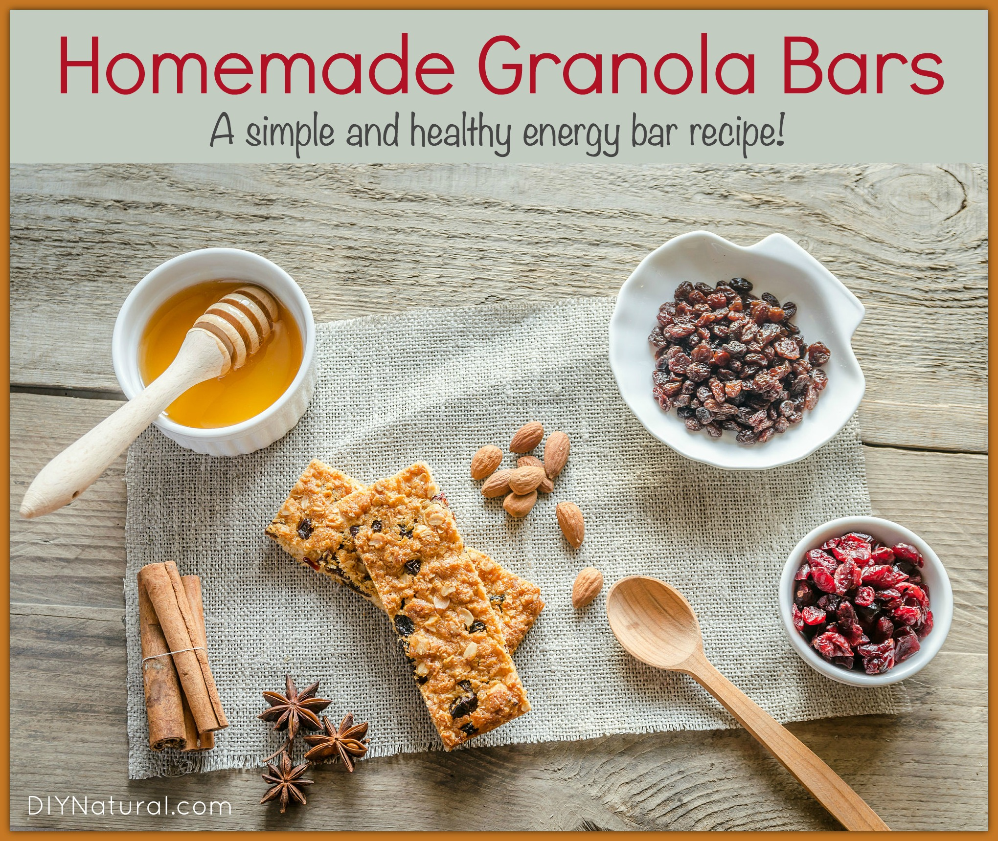 Simple And Nutritious: Homemade Granola Bars: Simple And Healthy Energy Bars