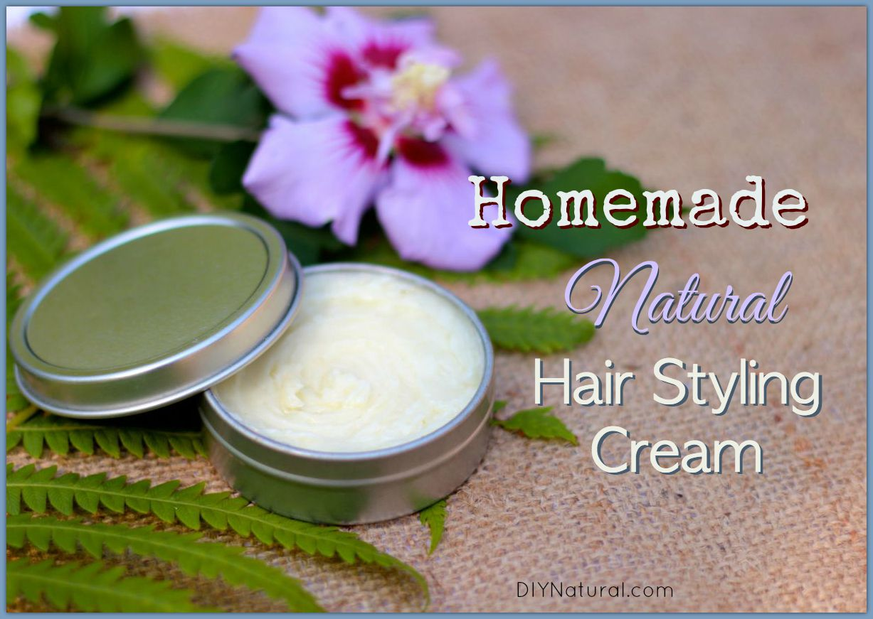 Homemade Hair Cream A Nourishing Natural Styling Product