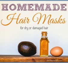 Homemade Hair Mask Recipes for Dry/Damaged Hair