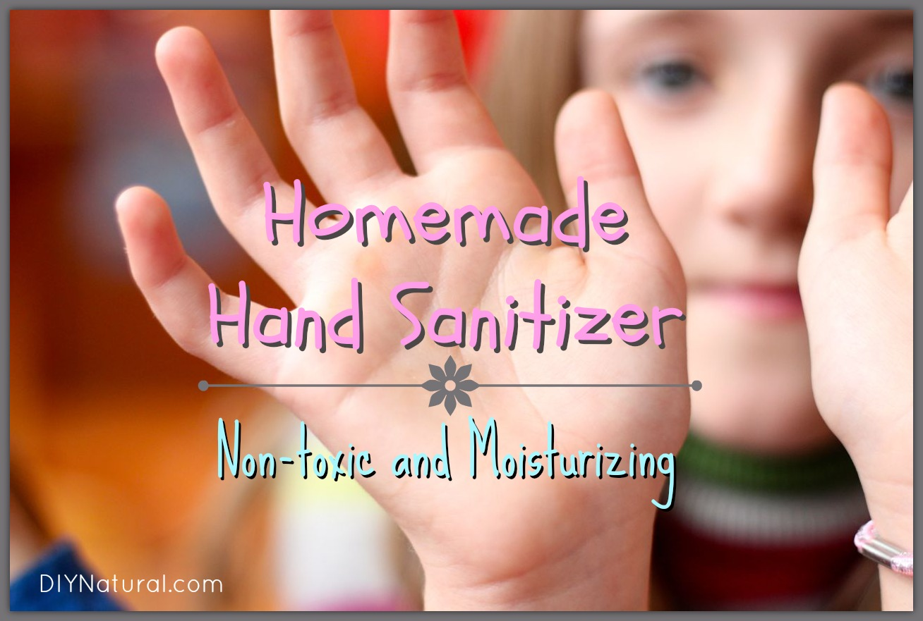 How To Make Hand Sanitizer Homemade Natural And Simple