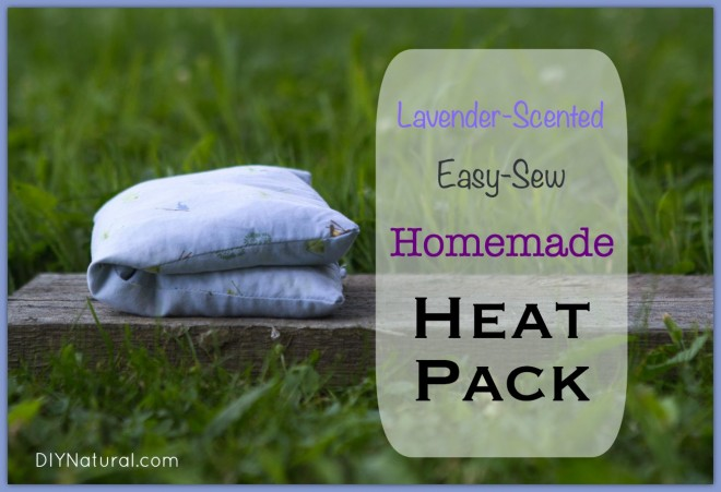 How To Make An Easy Sew Homemade Heating Pad