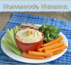 Homemade Hummus: A Simple, Delicious, Healthy Recipe