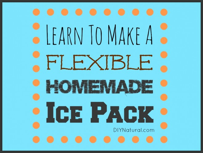 homemade ice pack - Reusable Ice Packs