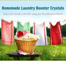 Natural Scented Homemade Laundry Booster Crystals