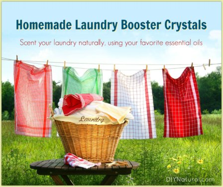 Homemade Laundry Booster Crystals
