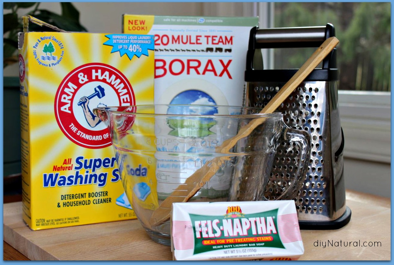 Homemade Laundry Detergent 1