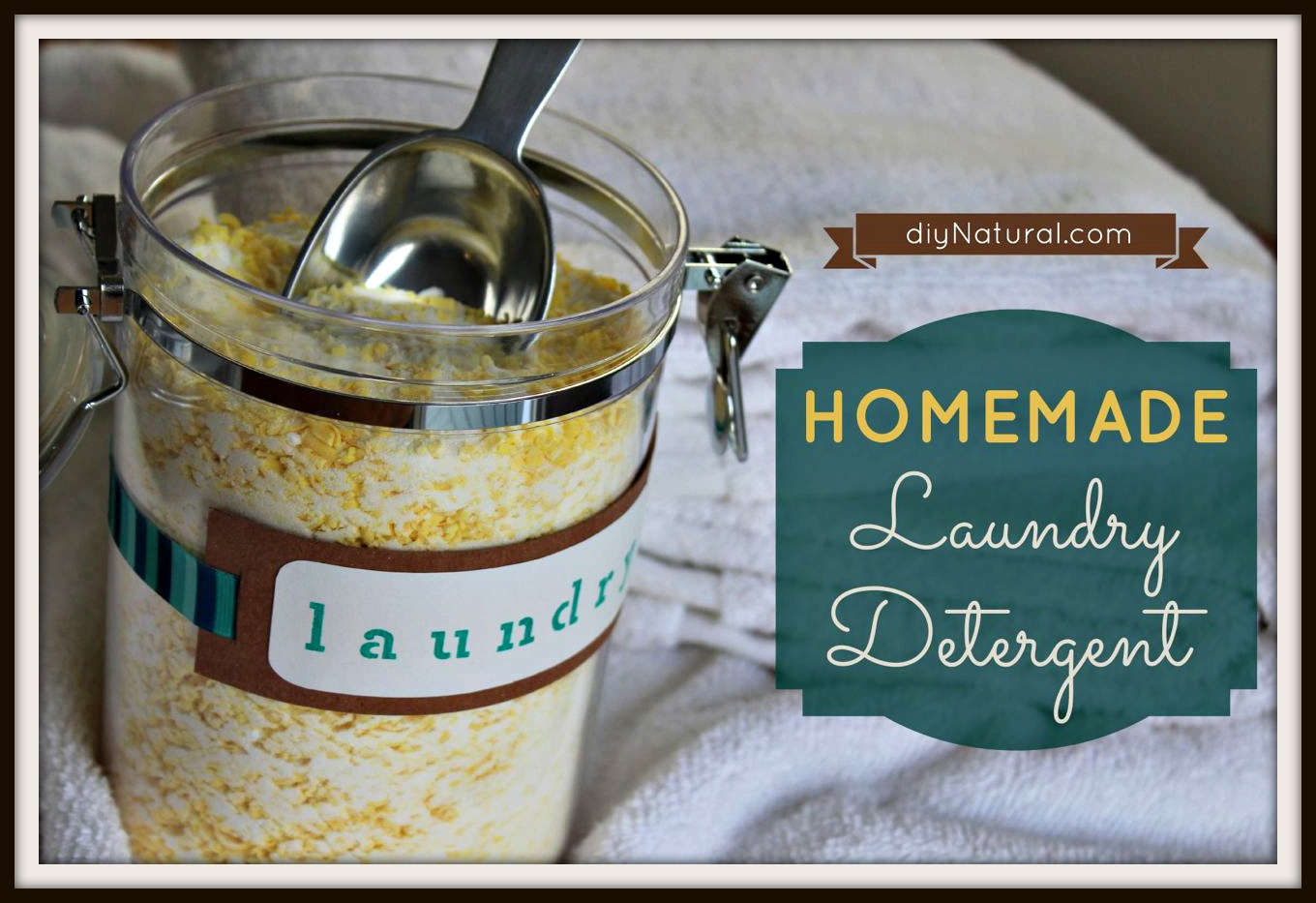Homemade Laundry Detergent The Best Natural Recipe