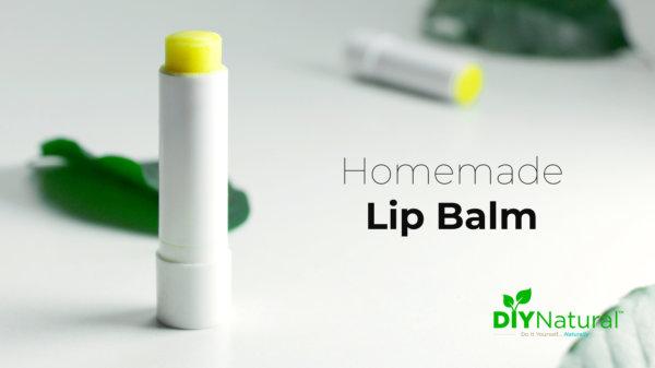 Homemade Lip Balm Recipe