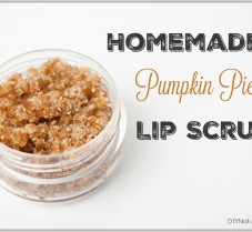 Homemade Pumpkin Pie Lip Scrub Recipe You'll Love