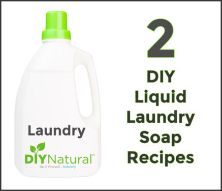 Homemade Liquid Laundry Detergent DIY