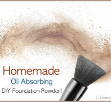 Homemade Makeup Powder Foundation