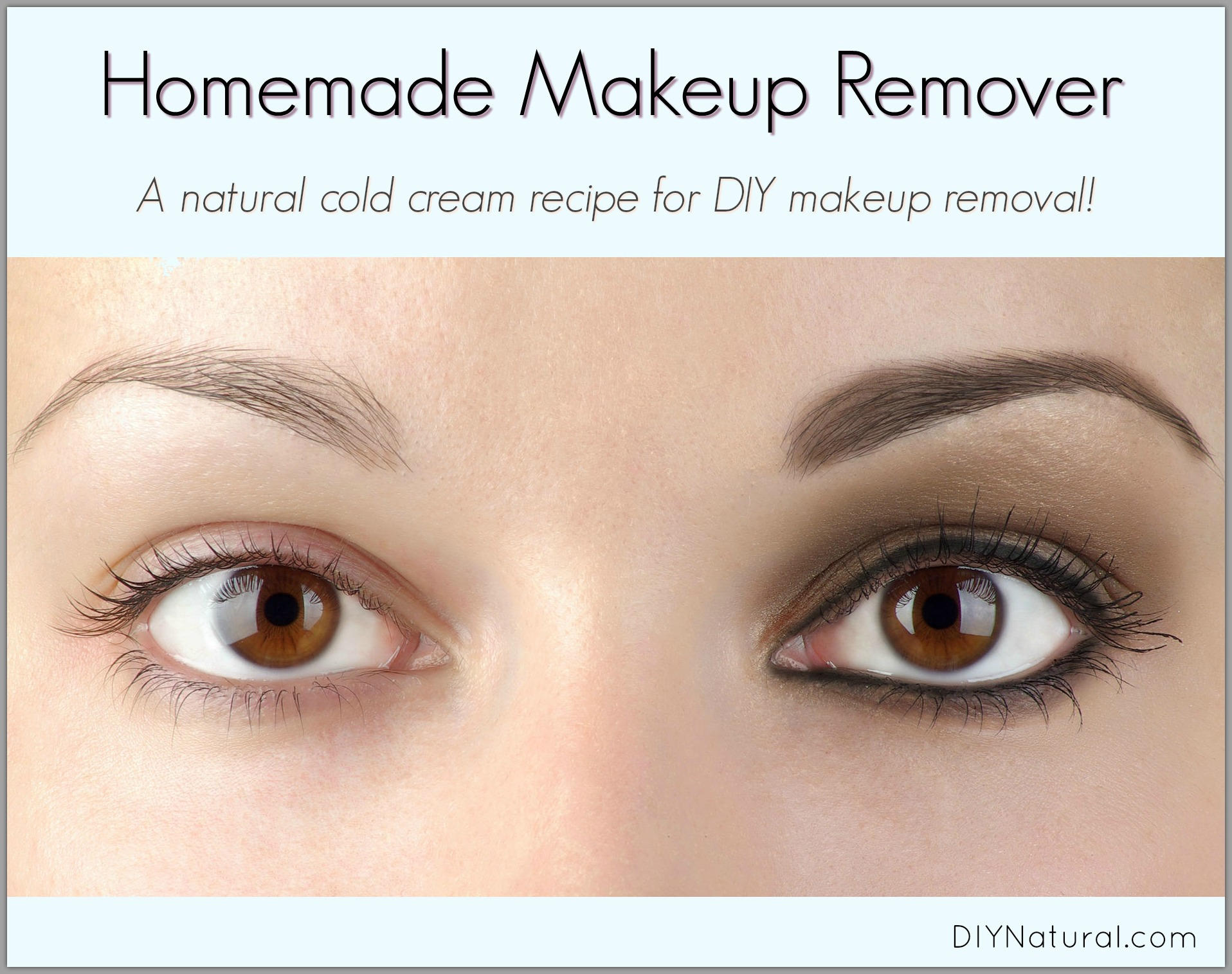 Homemade Makeup Remover: A Natural Cold Cream for DIY Makeup
