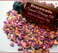 Sensual DIY Massage Oil: Perfect for Valentine's Day!