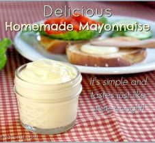 Homemade Mayonnaise – Better Than Store-Bought