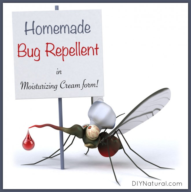 Mosquito Repellent Cream: Homemade Repellent in A Moisturizing Cream