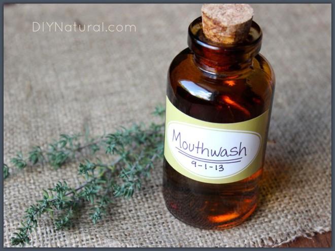 Natural and Antibacterial Mouthwash