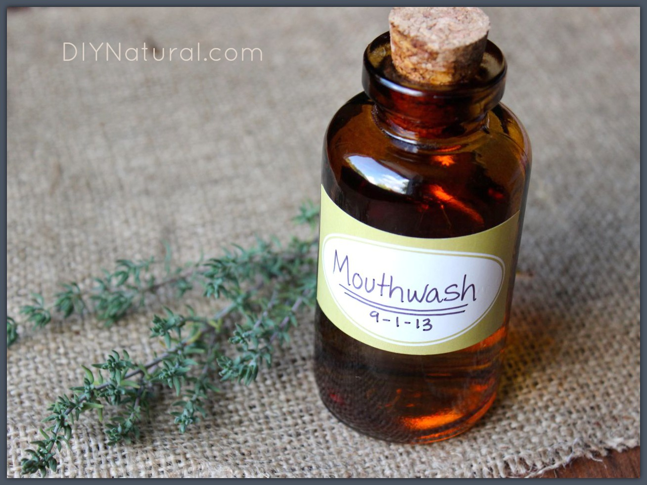 Homemade Mouthwash: A Natural