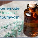 How To Make Natural & Antibacterial Mouthwash