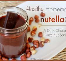 A Healthy Homemade Chocolate Hazelnut Spread