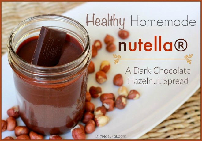 Healthy Homemade Chocolate Hazelnut Spread