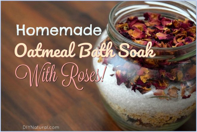 Homemade Oatmeal Bath Recipe