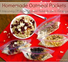 Homemade Instant Oatmeal Packets: DIY Time-Saver